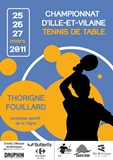 Championnat Ille-et-vilaine tennis de table 2011 Thorigné Fouillard
